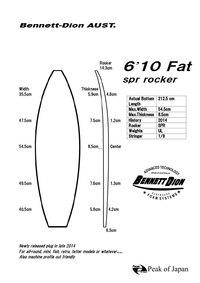New 6'10 Fat